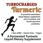Turbocharged Turmeric Probiotic 32 oz - Case of 12