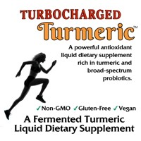 Turbocharged Turmeric (Rest Easy) Probiotic Samples - 4 2-oz. Bottles