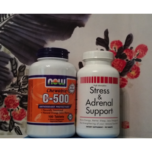 Stress & Adrenal Support + Vitamin C